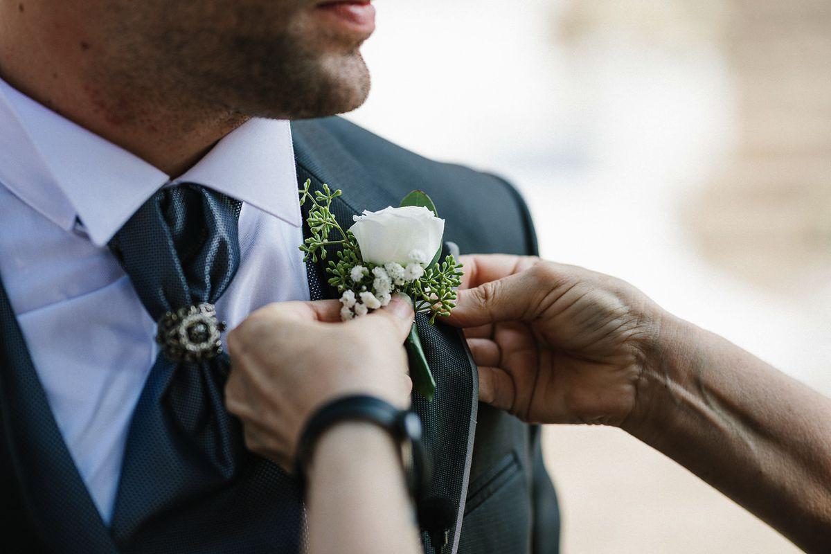 Boutonniere sposo